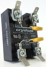 Crydom a2410 semiconductores relés Solid-State Relay output 240v ~ 10a input 90-280v ~