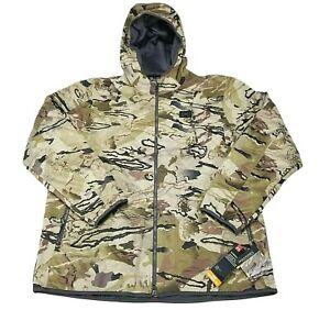 Under Armour Brow Tine Xstorm Jacket Men's 2XL Barren Camo 1355316