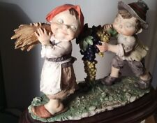 "Giuseppe Armani Retierd Figurine "" Happy Children"" Very Rare"