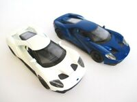 Ford Gt Sports Car Model Car 1:3 2 Diecast Welly 12 CM New