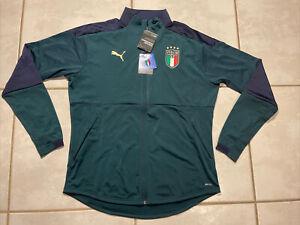 NWT PUMA Italy National Team FIGC Training Jacket Men's Medium 757214-03