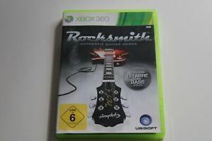 Rocksmith (Microsoft Xbox 360, 2012, DVD-Box)