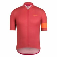 Rapha Cycling Short Sleeve Lines Flyweight Jersey Red Size Medium BNWT