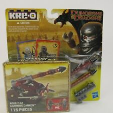KRE-O Dungeons & Dragons Lightning Cannon Set (A6737) NEW 115 Pieces