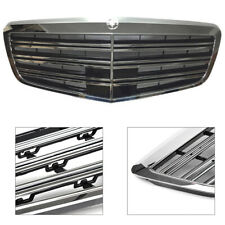 Fit 2007-2013 Mercedes Benz W221 S-Class AMG Style Front Hood Grill Grille-ABS
