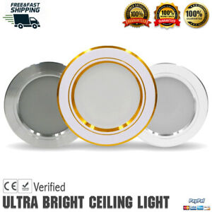 LED Recessed Lighting Panel Dimmable Home Ceiling Down Light Spot Lights Fixture
