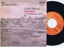 LUCIO DALLA 4/3/1943 German 45PS 1971 San Remo