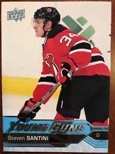 2016-17 UD Hockey Series 1 Young Guns #207 Steven Santini