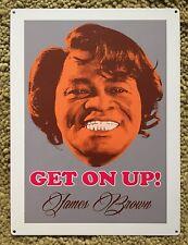 James Brown Godfather of Soul Get on Up Sex Machine Vintage Poster Steel Sign