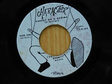 Character 45 PUPPET ON A SPRING / GHOST IN THE ATTIC ~ Rock /Metal detroit? VG