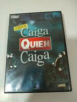 CAIGA QUIEN CAIGA CQC LO MEJOR 2 X DVD + EXTRAS EL GRAN WYOMING HOMBRES DE NEGRO