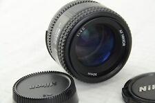 Nikon AF Nikkor 50mm f/1, 4 D, FX and DX, Good