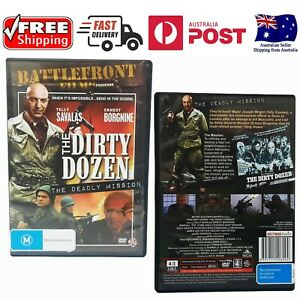 The Dirty Dozen The Deadly Mission (1 DVD) - - Like New, *Free Shipping*