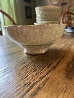 """Paragon By Appointment The Queen Fine China England Footed Bowl Regency  5.25"""""""
