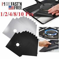 Gas Range Stove Top Burner Cover Protector Reusable Liner Non-stick Clean Cover