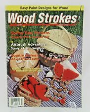 New ListingWood Strokes Magazine - July 1994 - Painting Projects Stencil Airbrush Decor