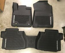 2012-2018 SEQUOIA FLOOR LINERS MAT ALL WEATHER W/2ND CONSOLE  OEM PT908-0C160-02