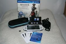 Sony PlayStation Vita Assassin's Creed III Liberation Bundle White Handheld...