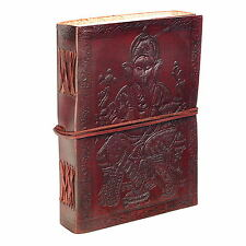 Fair Trade Handmade Large Ganesh Leather Journal 2nd Quality