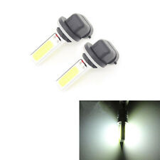 2X 881 H27W Super White COB LED Lights 20W Fog Driving Light DRL Lamp Bulb