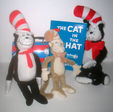 Dr Suess CAT IN THE HAT Plush / Book / Tin Lunchbox