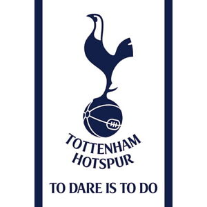 """Tottenham Hotspur Team Crest Wall Poster 24"""" x 36"""" Officially Licensed"""