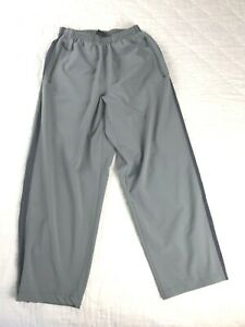 Nike Women's Gray with Mesh Side Stripe Track Pants Size Small Petite
