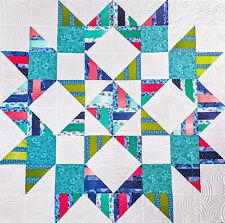 STAR BRIGHT Quilt Kit - Moda Fabric + Quilt Pattern // Easy enough for beginner