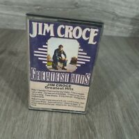 Jim Croce Photographs Greatest hits cassette Snap case Vintage 1970's