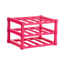 Premier 3 Tier 12 Bottles Hot Pink Wine Rack Holder Storage Modern Display Stand