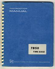 TEKTRONIX - 7B50 - SERVICE INSTRUCTION MANUAL ( ORIGINAL BOOK )