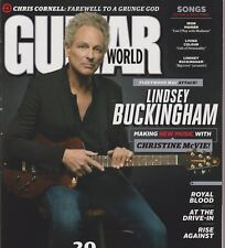 GUITAR WORLD MAGAZINE AUGUST 2017, LINDSEY BUCKINGHAM.