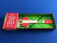 Yule Lele, plays 5 holiday tunes (Deck the Halls, Jingle Bells, etc.) - Hallmark