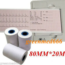 Impresora Térmica De Papel Para Ecg Ekg Machine Electrocardiógrafo 80mm * 20m ekg-903b