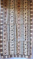 Vintage Large Tapa/Masi Bark Cloth, Wall Hanging, Fiji