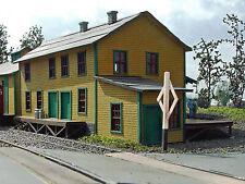 CREAMERY HO Model Railroad Structure Unpainted Laser-cut Wood Kit LA680