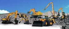 Hyundai Crawler Excavator HX520L  SERVICE AND REPAIR MANUAL