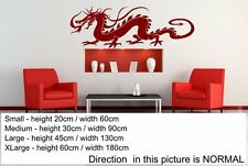 Traditional Chinese Dragon Classic Large Vinyl Wall Sticker Decal 20cm x 60cm