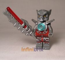 Lego Wakz Minifigure from sets 70004 + 70009 Legends of Chima Wolf NEW loc008