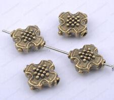 20Pcs antique bronze cross Spacer Beads Findings 12X12MM DIY FINDINGS