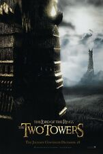 The Lord Of The Rings movie poster The Two Towers - 13.5 x 20 inches - original