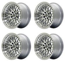 """UltraLite UL10 15"""" x 9J ET25 4x100 4x114.3 Silver Lip Alufelgen JR10 Z2300"""