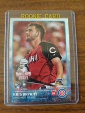 Kris Bryant 2015 Topps Update Home Run Derby Red J Rookie Chicago Cubs