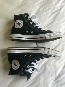 CONVERSE Chuck Taylor All Star Hi Black sneakers Women's  Size 8