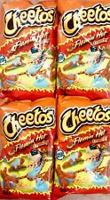 4 Large Bags Of 8oz Flamin Hot Crunchy Cheetos American Import Bags