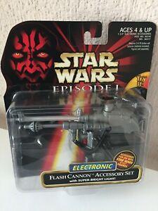 FLASH CANON ACCESSORY SET - STAR WARS - EPISODIO I - 1999