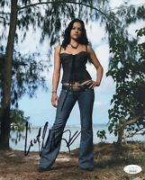 Michelle Rodriguez Signed 8X10 Photo LOST Autograph FAST FURIOUS JSA COA
