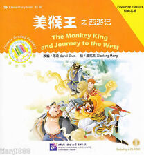 The Monkey King and Journey to the West - Chinese Graded Readers (with 1CD)