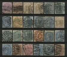 India Collection 24 QV East India Stamps Used