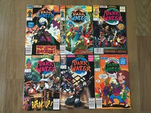 PIRATES OF DARK WATER COMIC LOT 6 ISSUES MARVEL COMICS NEWSSTAND EDITIONS